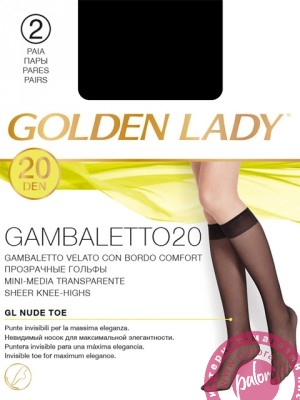 Гольфы (2 пары) Golden Lady
